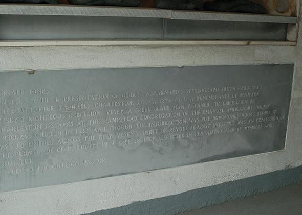 Vesey monument inscription.