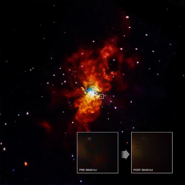 Chandra image of supernova.