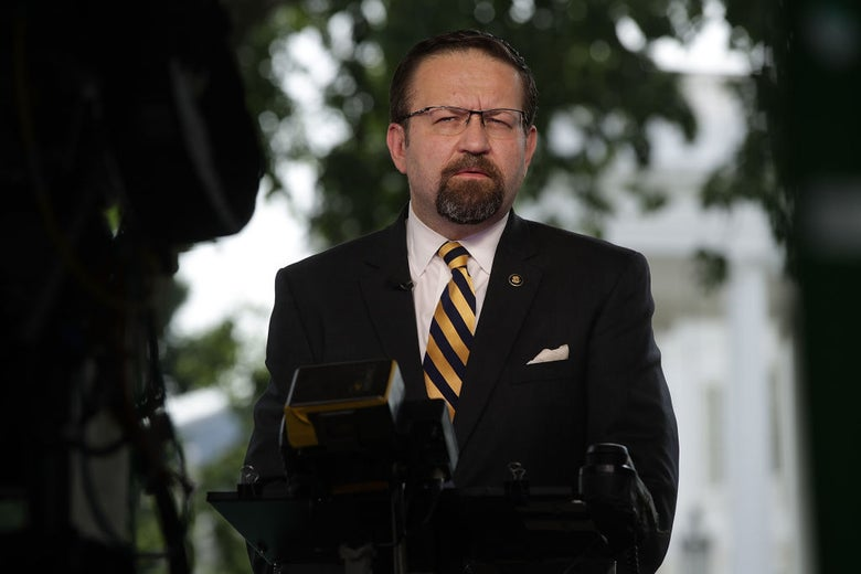 Sebastian Gorka, Immigrant Crime Obsessive, Is Wanted for Committing a Crime in Another Country