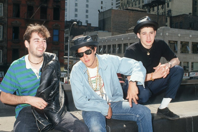 MCA, Mike D, and Ad-Rock of the Beastie Boys.