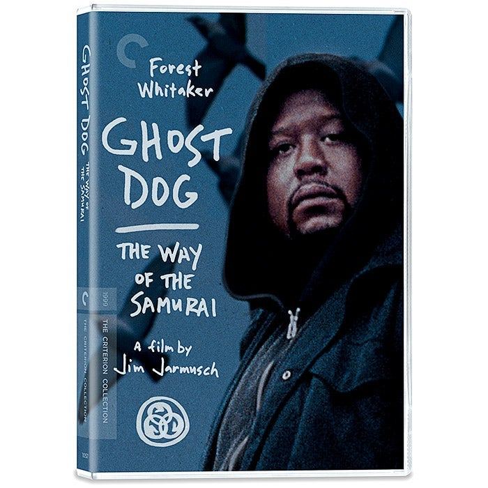 Criterion DVD cover of Ghost Dog.