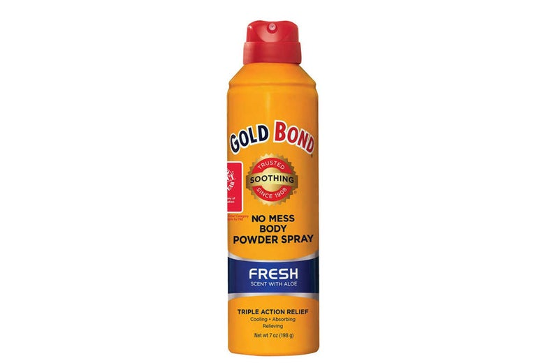 Gold Bond No-Mess Powder Spray.