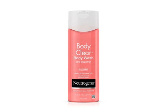 Neutrogena Pink Grapefruit Body Wash.