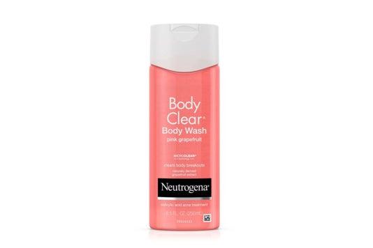 Neutrogena Pink Grapefruit Body Wash.