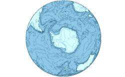 The Antarctica region.