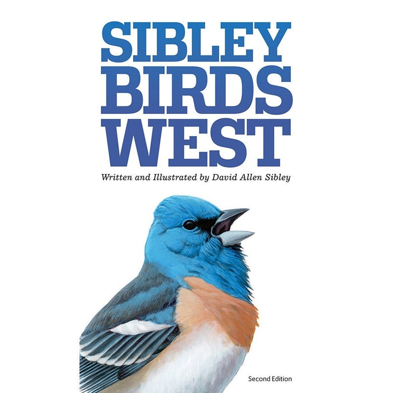 The cover of Sibley Birds West.