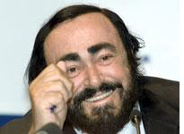 Luciano Pavarotti. Click image to expand.