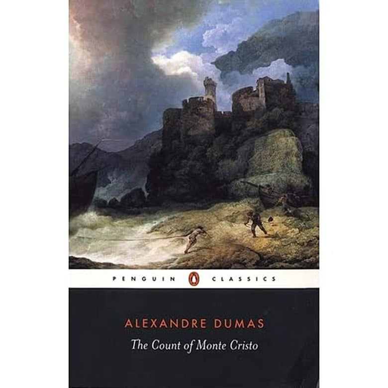 Cover of The Count of Monte Cristo.