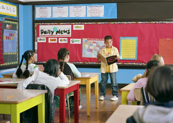 Classroom kids.