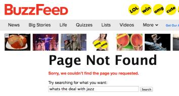 BuzzFeed jazz listicle