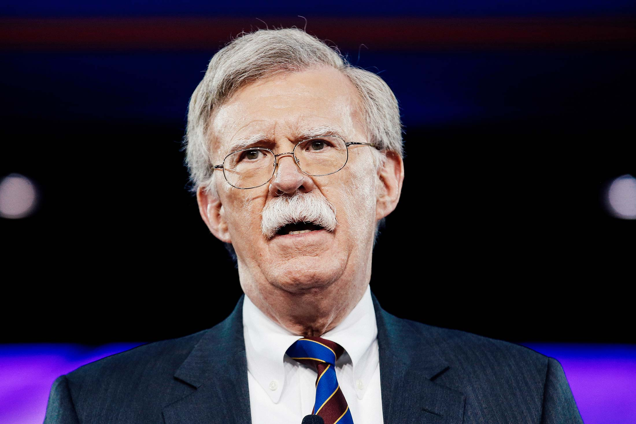 John Bolton speaks at the Conservative Political Action Conference in Oxon Hill, Maryland, on Feb. 24, 2017.