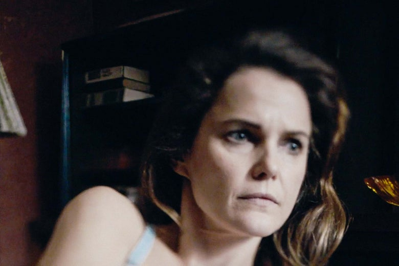 Keri Russell as Elizabeth Jennings in The Americans.