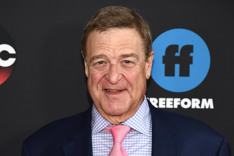 Actor John Goodman of Roseanne.
