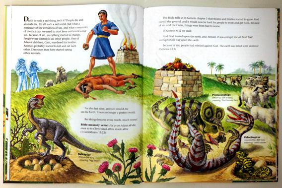 """Dinosaurs of Eden"" by Ken Ham."