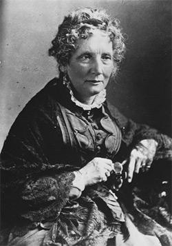 """Harriet Beecher-Stowe, American abolitionist and author of """"Uncle Tom's Cabin."""""""