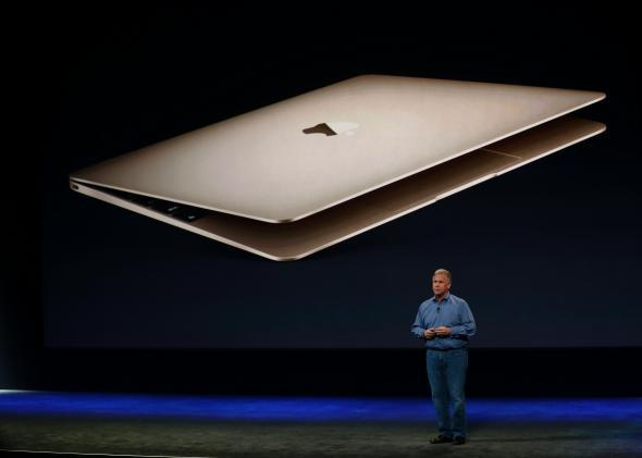 The new 12-inch MacBook, Apple's lightest yet, might be the iPad's toughest rival.