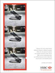 HSBC Ad.