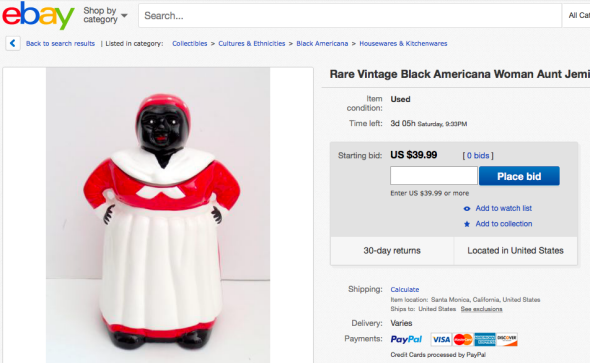That racist cookie jar from Master of None is real, and it's for