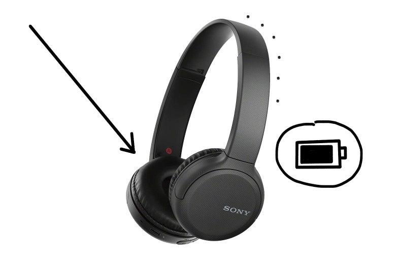 Sony headphones.