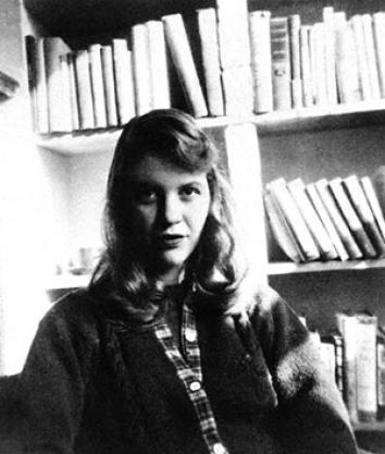 Author Sylvia Plath