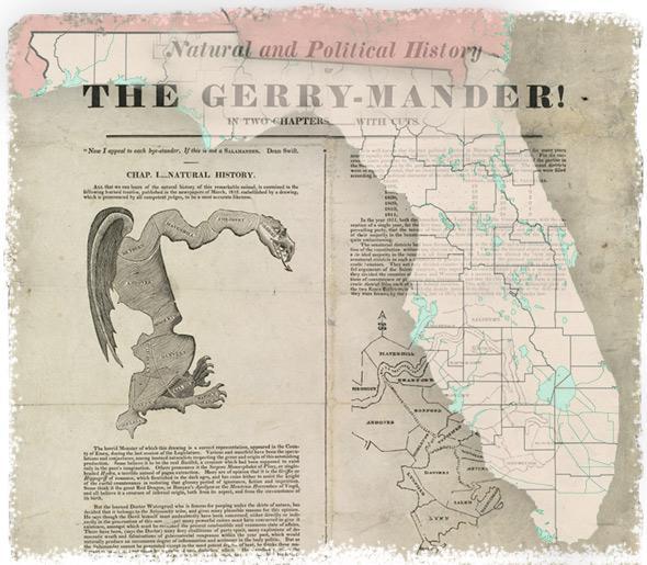 Gerrymandering in Florida.