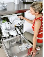 Dishwashers can be more eco-friendly than hand-washing. Click image to expand.