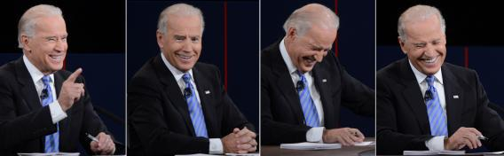 Vice President Joe Biden dominated the debate from the beginning but may have turned off independent and undecided voters