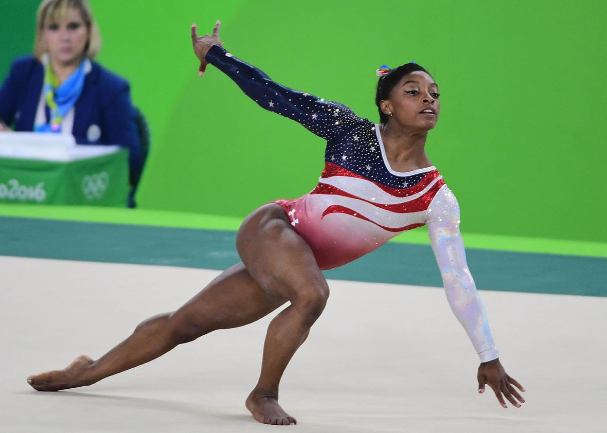 Olympic gymnasts choose the tacky music