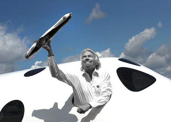 British billionaire Richard Branson.