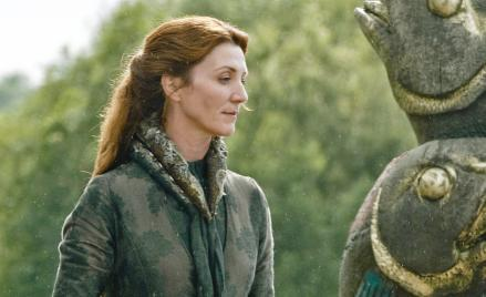 Michelle Fairley as Catelyn Stark on HBO's Game of Thrones