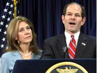 Silda and Eliot Spitzer. Click image to expand.