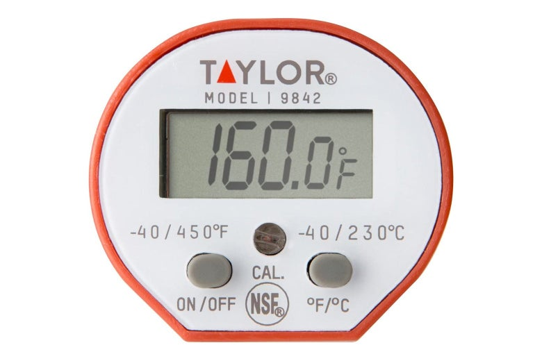 Digital thermometer.