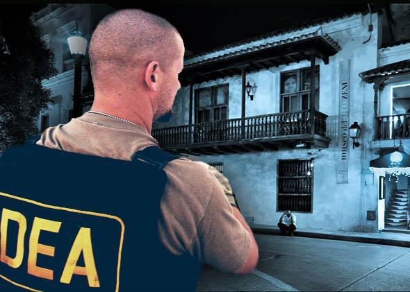 A Drug Enforcement Administration (DEA) agent, Cartagena, Colombia.
