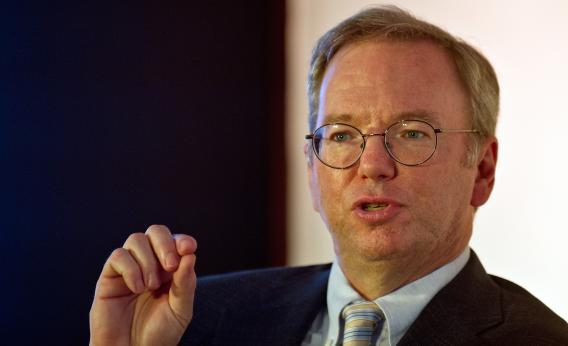 Google CEO Eric Schmidt knows what's best for us.
