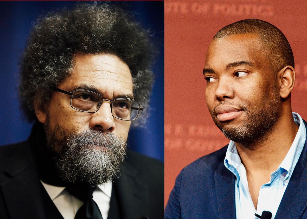 Cornel West, Ta-Nehisi Coates.
