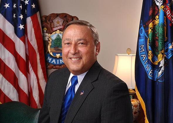 Maine Governor Paul R. LePage.