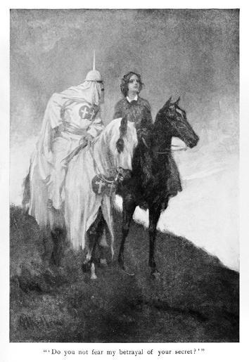 "The front page to Thomas Dixon's ""The Clansman: An Historical Romance of the Ku Klux Klan"" published in 1905."