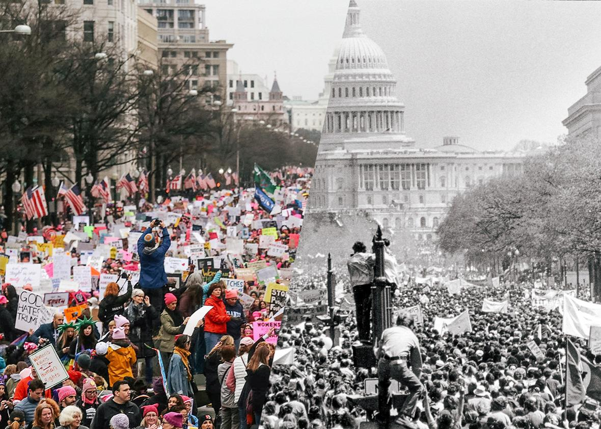 Protests in Washington DC