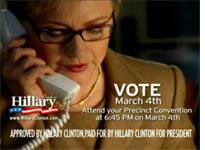 Clinton campaign ad