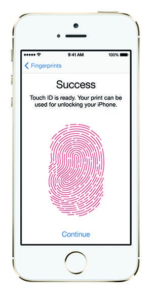 Touch iD, Apple iPhone 5S