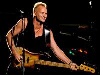 Sting performs at the Grammys         Click image to expand.