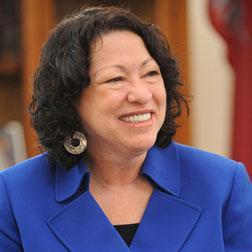 Photograph of Sonia Sotomayor.