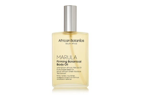 African Botanics Firming Botanical Body Oil.