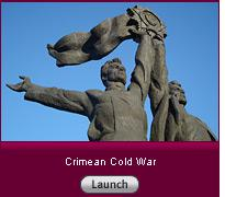 Click here to launch a slide show on the Crimean Cold War.