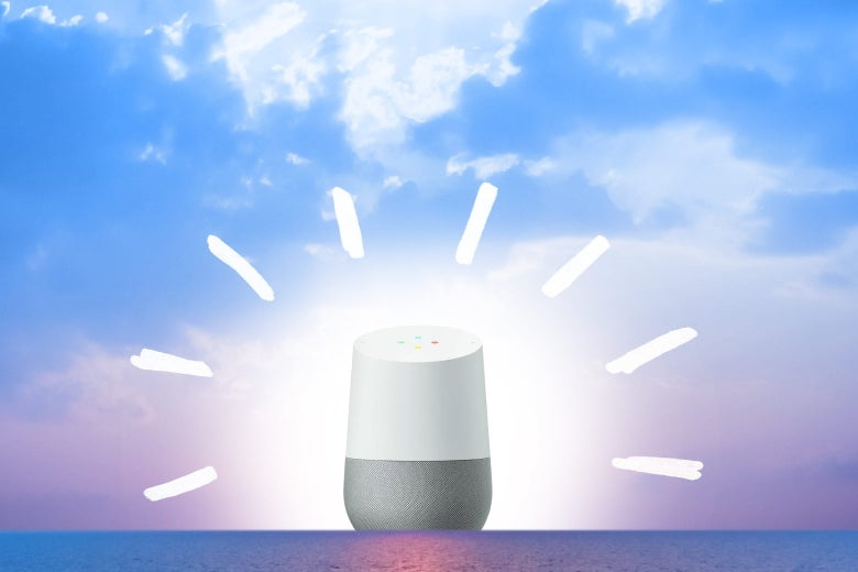 A Google Home on the horizon.