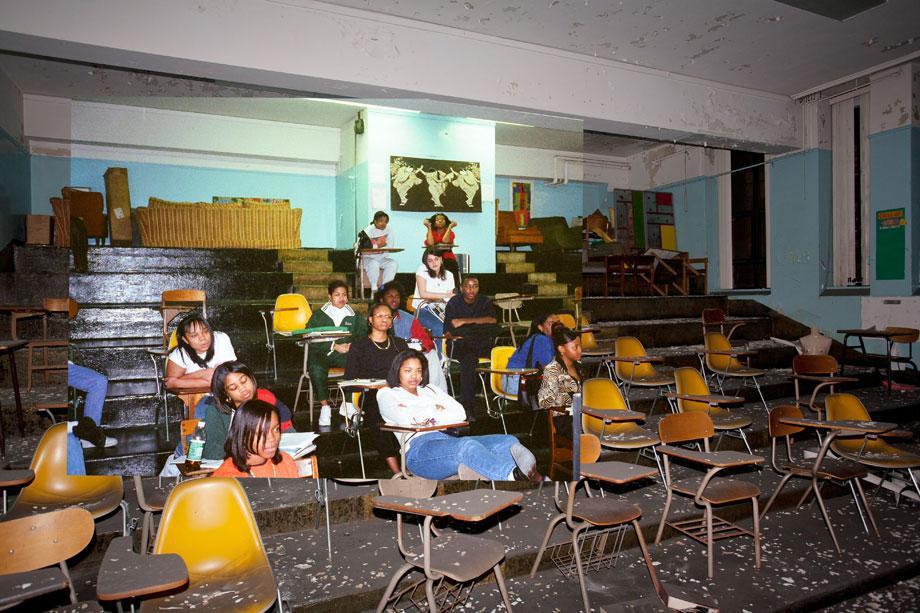 Cass Technical High School.
