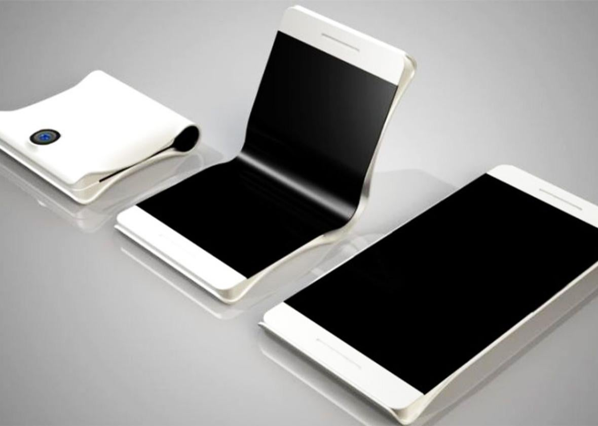 foldable phone.