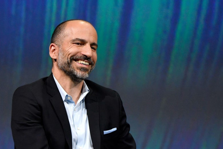 """CEO Dara Khosrowshahi was reportedly unaware that """"the D"""" does not always mean """"the decision maker."""""""