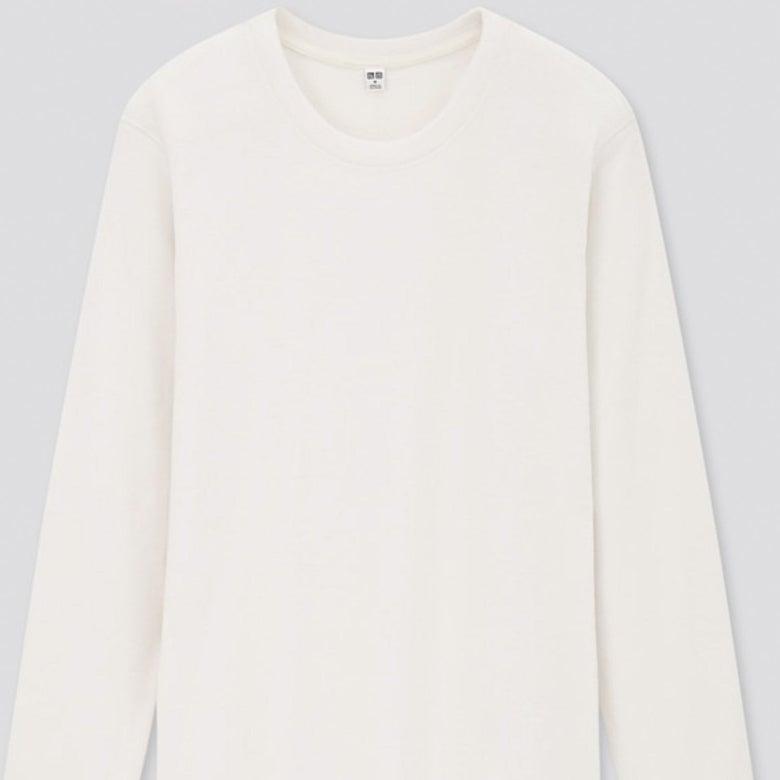 A white long-sleeve shirt.