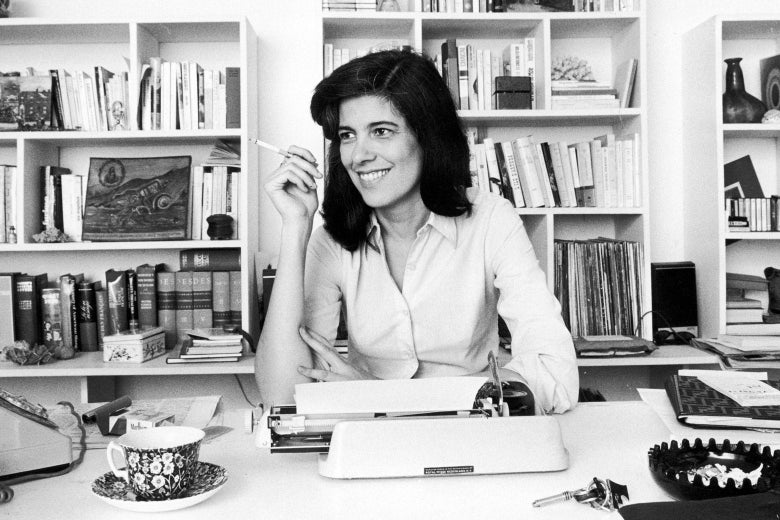 Susan Sontag in France on Nov. 3, 1972.